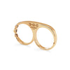 DOUBLE KNUCKLE | 18K GOLD