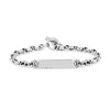 5MM OPEN-LINK™ MONOGRAM BRACELET | STERLING SILVER
