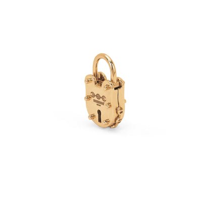 25MM LOCK | 18K GOLD