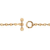 3MM OPEN-LINK™ MONOGRAM BRACELET | 18K GOLD