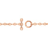 3MM FIVE LINK PAVE BRACELET | 18K GOLD