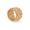 DAMASH WITH DIAMONDS | 18K GOLD