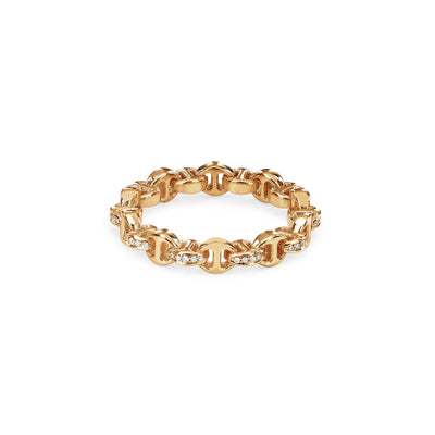 STRUT WITH DIAMONDS | 18K GOLD