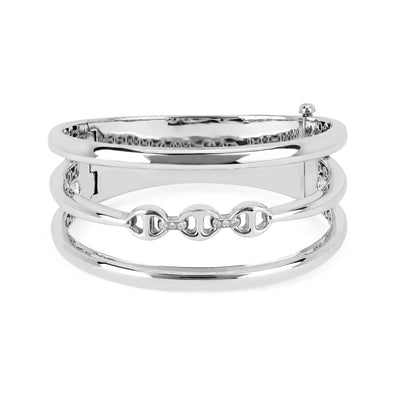 ASSET CUFF | STERLING SILVER
