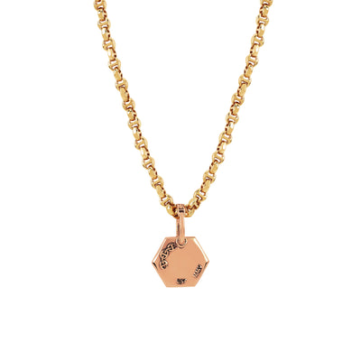 BOLT PENDANT | 18K GOLD