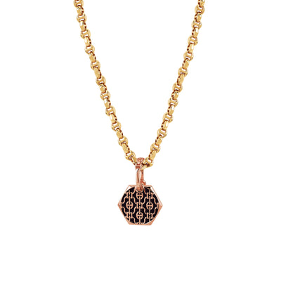 BOLT LACE PENDANT | 18K GOLD