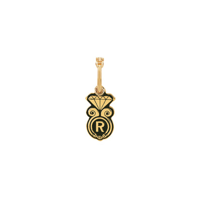 GOLDEN DIAMOND PENDANT I | 18K GOLD
