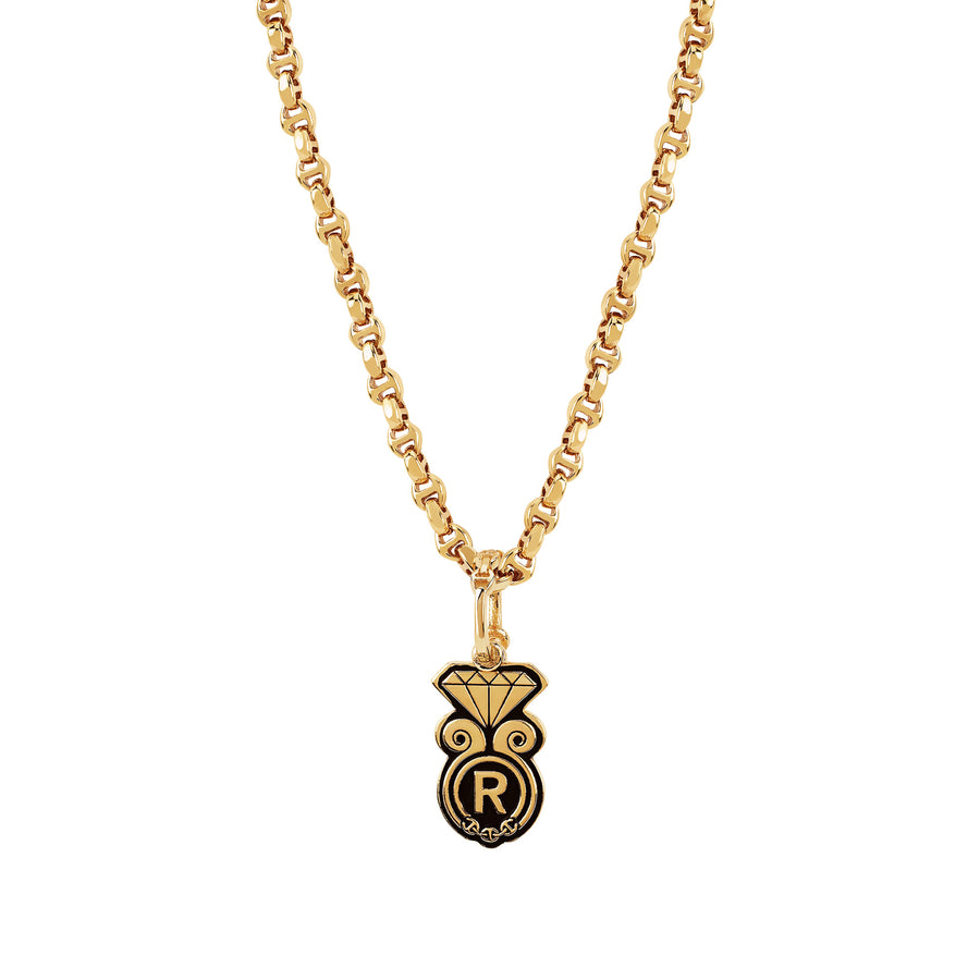 GOLDEN DIAMOND PENDANT II