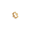 CLASSIC TRI-LINK CHARM | 18K GOLD