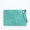 Image of Large Purse Clutch Bag leather Evening Wristlet Handbag