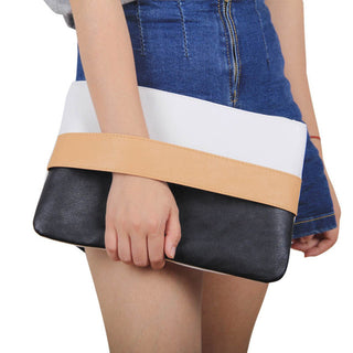 Women's Large Leather Clutches Handbags