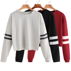 Women's Pullover Coat Winter Loose Fleece Thick Knit Sweatshirts