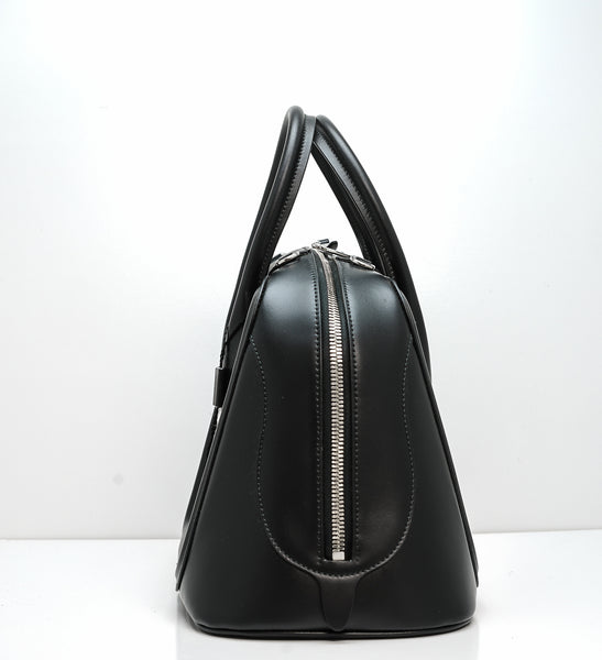 Alexander McQueen Leather Black Bowling Bag 5819311