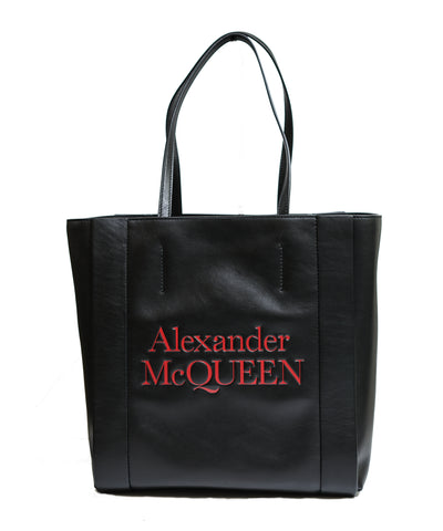 Alexander McQueen Black Leather Signature Shopper Bag 530773