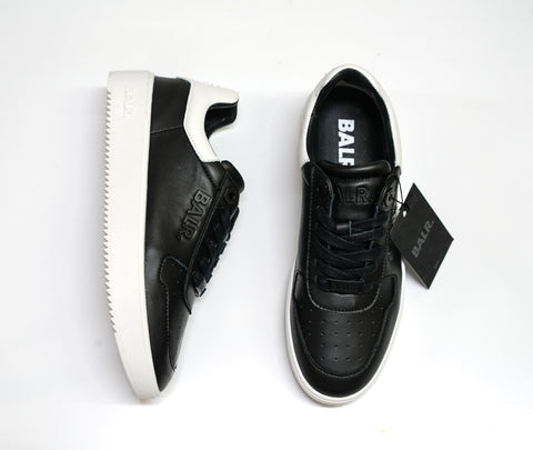 BALR. Black Leather Logo Sneakers