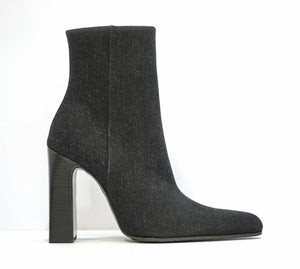 Balenciaga Ladies Black Denim Boot 544235