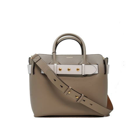 Burberry Grey & White Belt Bag 8009563
