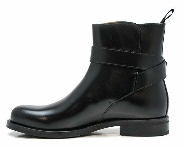 Church's Women's Black Leather Buckle Boot Lauren