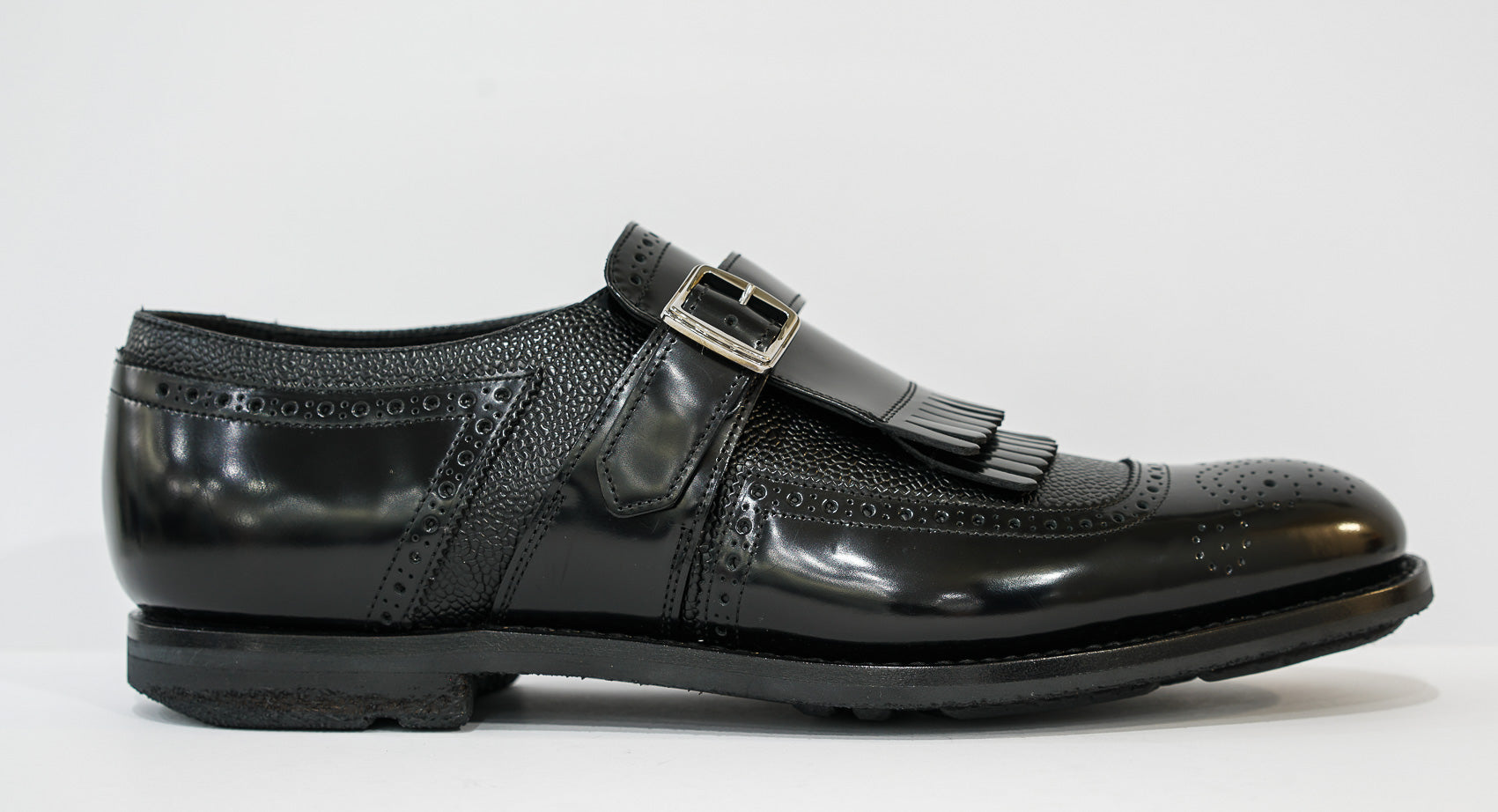 Church's Men's Black Royal Slip On Shoe EOG002