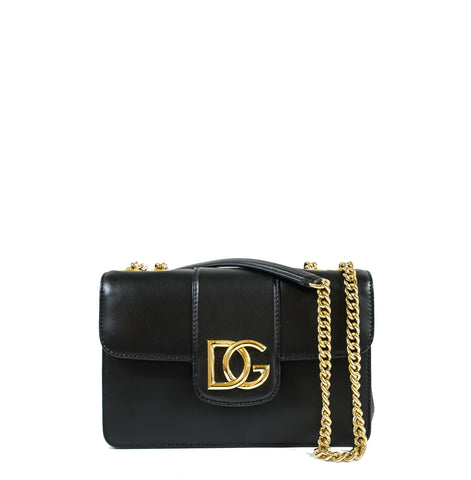 Dolce & Gabbana Black Shoulder Bag BB6750