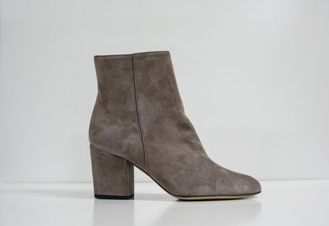 Fabio Rusconi Grey Suede Ankle Boot Salvia