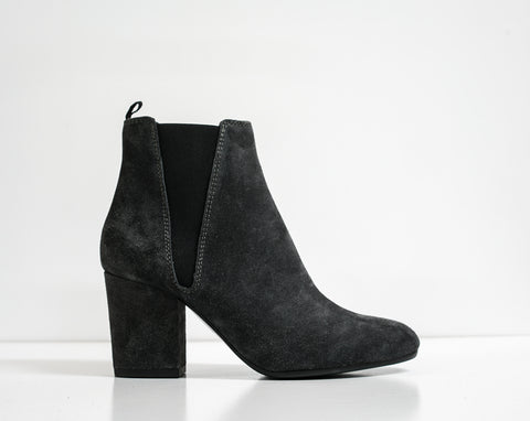 Fabio Rusconi Grey Velour Ankle Boot VIKY914