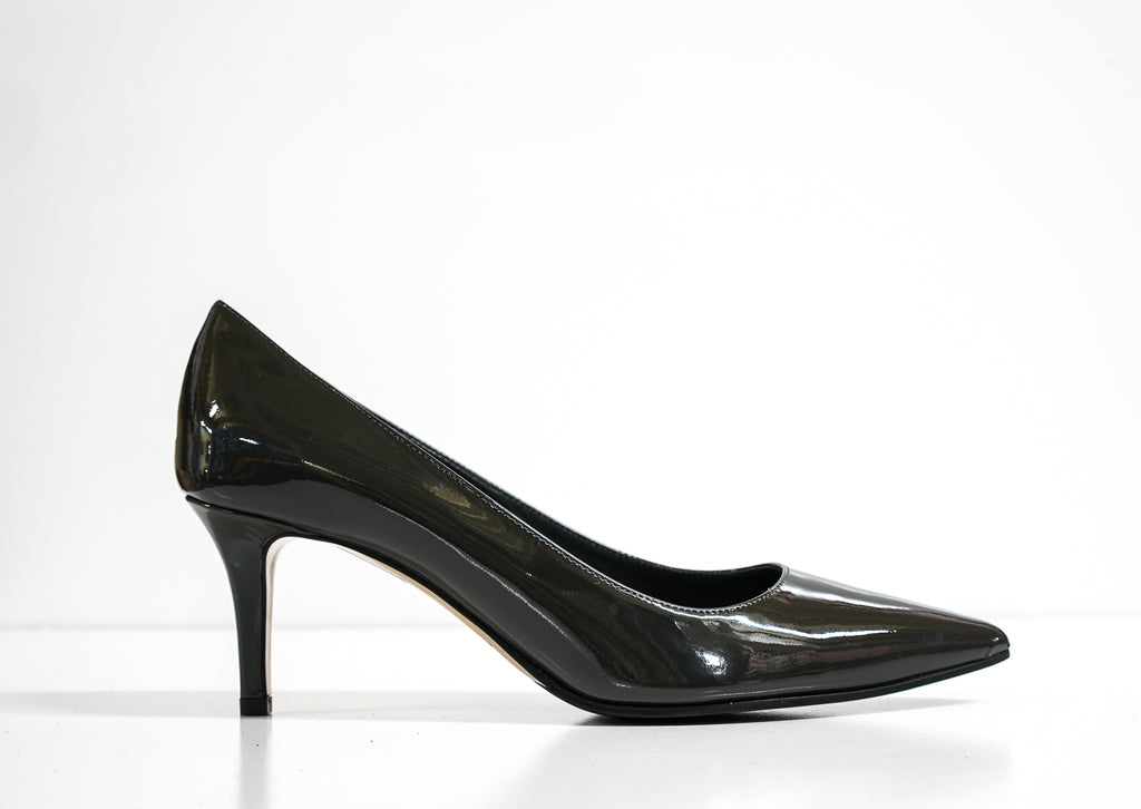 Fabio Rusconi Women's Ash Patent Leather Pump Milly