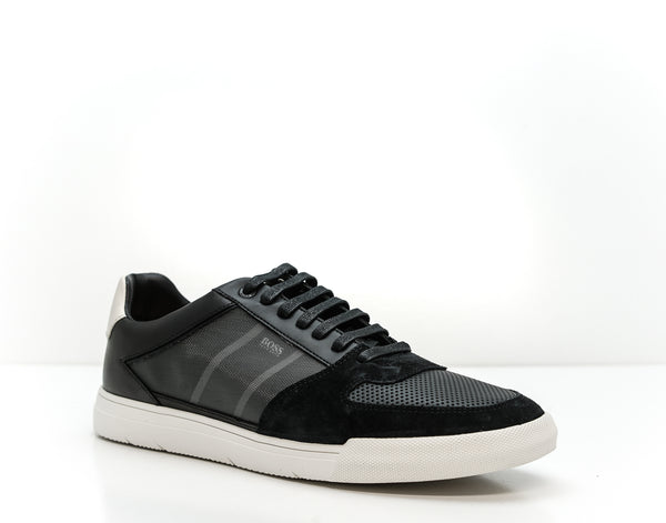 Hugo Boss Men's Black Sneakers Cosmopol