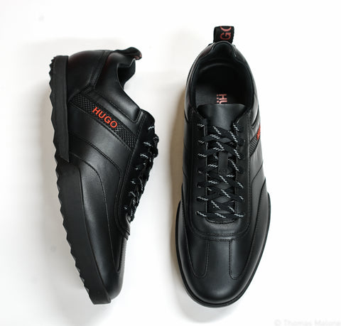 Hugo Boss Men's Black Sneakers Matrix