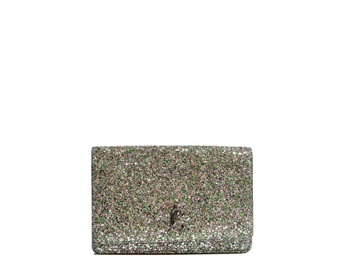 Jimmy Choo Palace Peppermint Glitter Bag