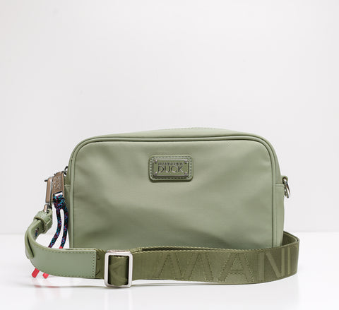 Mandarina Duck Green Small Crossbody Bag P10MYM04