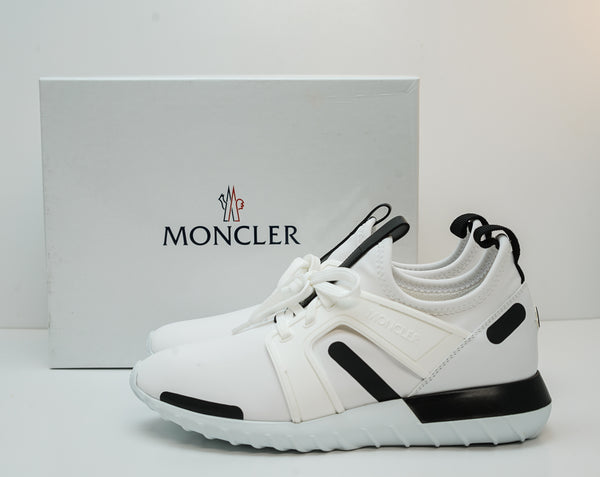 Moncler Men's White & Black Sneaker A4M70040