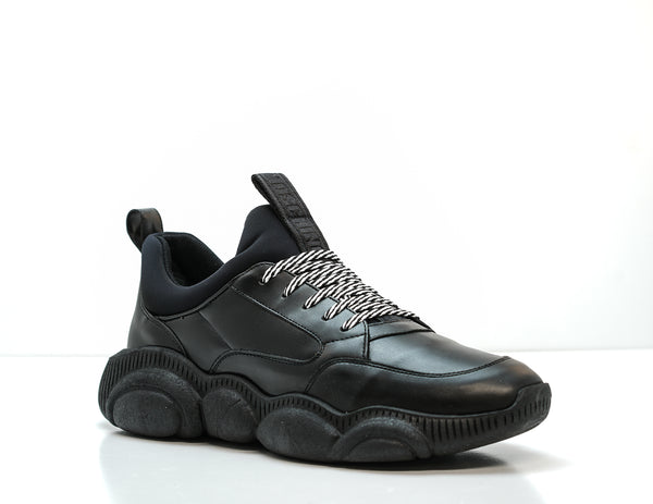Moschino Men's Black Teddy Sneaker MB1510