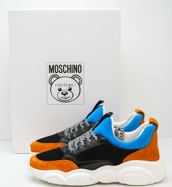 Moschino Men's Teddy Multi Colour Sneakers MB15103