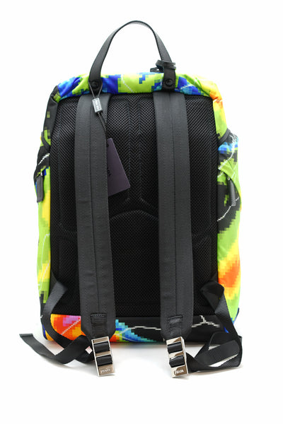 Prada Multicolour Radar Backpack 2VZ135 NEW