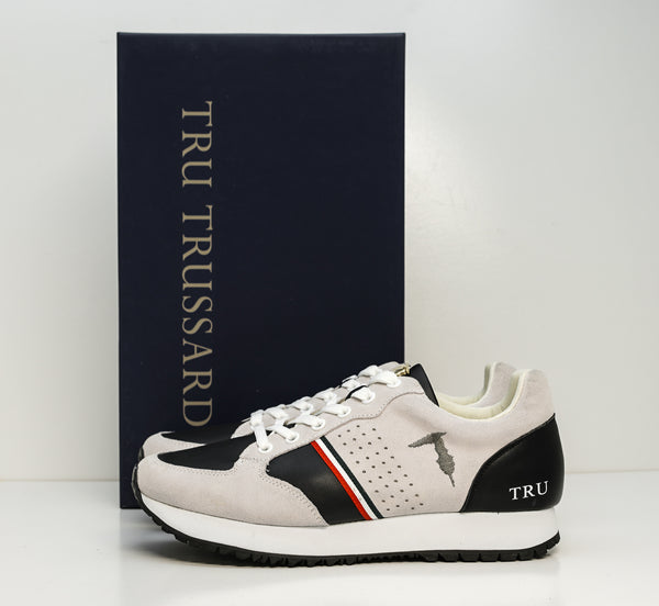 Trussardi Men's Grey Mixed Sneakers K308