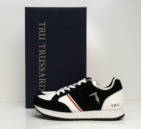 Trussardi Men's Black Mixed Sneakers W750