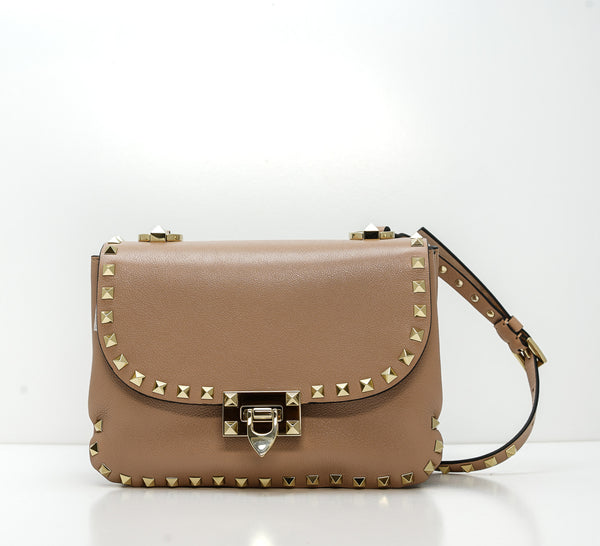 Valentino Rose Stud Small Shoulder Bag F12GHF S