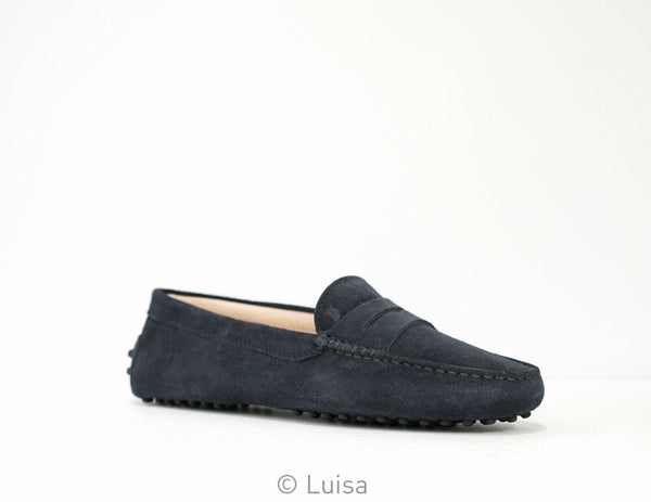 Tod's Women's Notte Suede Moccasin W00GOO