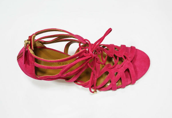 Aquazzura Ladies Pink Sandal IVYMID