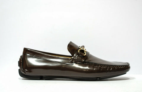 Roberto Serpentini Men's Brown Leather Loafer 1053