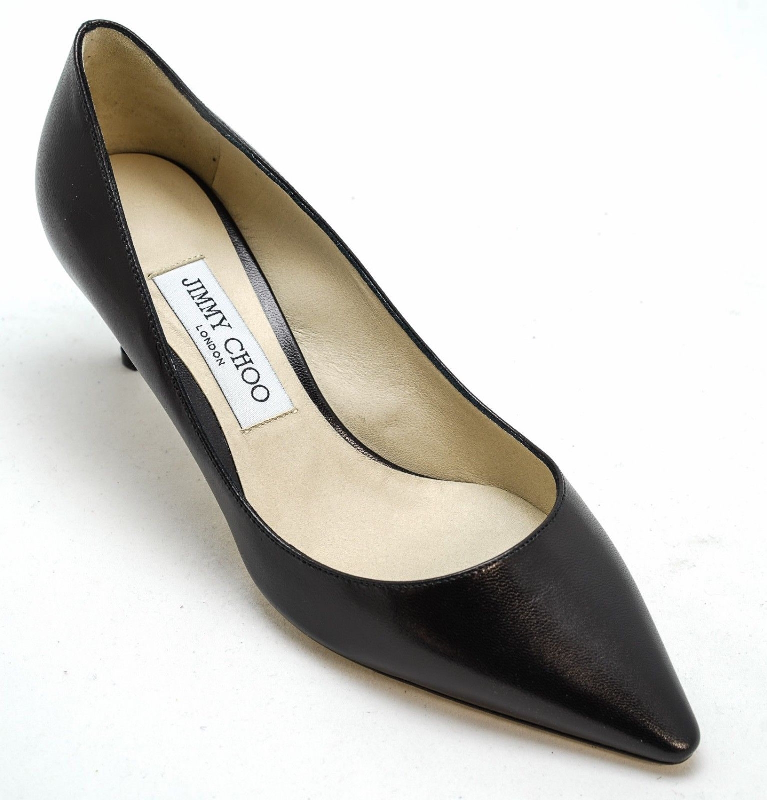 Jimmy Choo Ladies Black Classic Heel ROMY 65