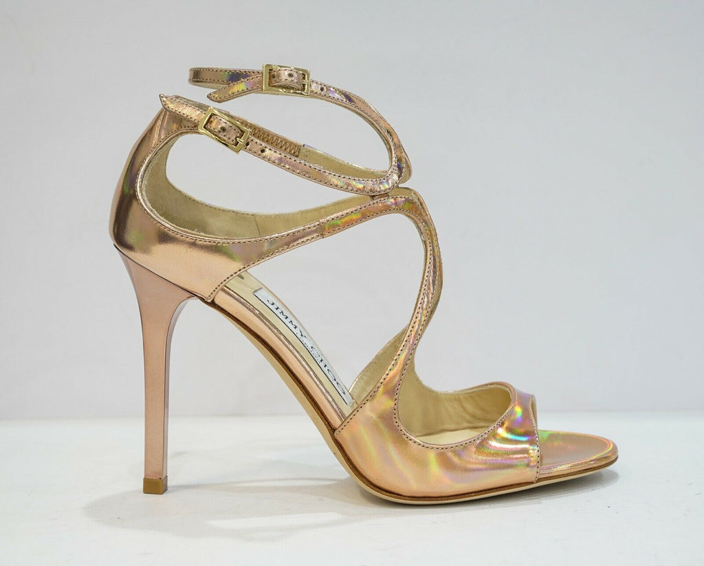 Jimmy Choo Ladies Copper Mirror Sandal LANG