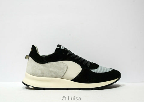 Philippe Model Men's Black & Grey Sneakers XT08