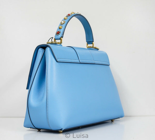 Dolce & Gabbana Sea Blue Jewel Bag 4BB6322