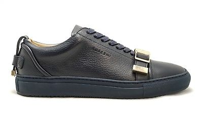 Buscemi Men's Ocean (Navy) Leather Sneaker 1050