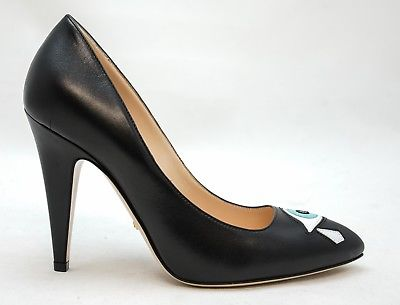 Gucci Black Eye Shoes 432091