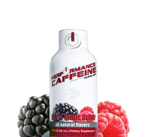 Performance Caffeine® Energy Shot All Natural Mixed Berry Flavor
