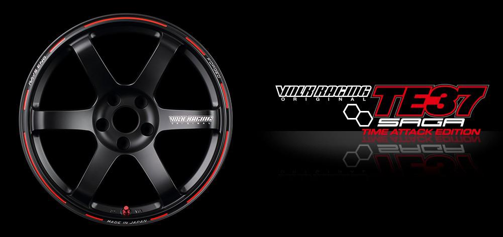 New Product: Volk Racing TE37 Saga Time Attack Edition
