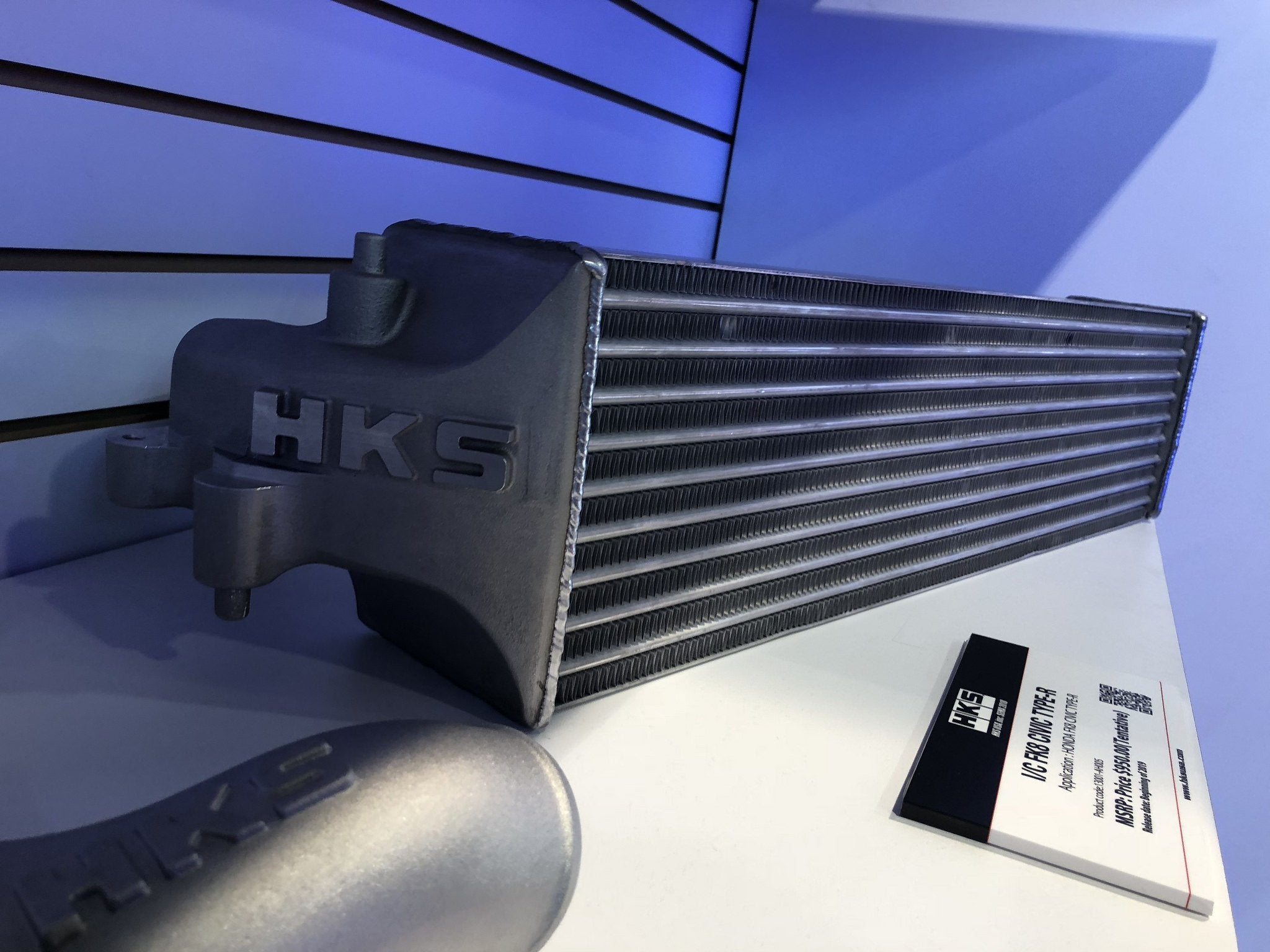 New Product: HKS Intercooler Civic Type R